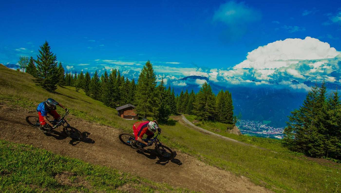 Mountainbike in Vorarlberg